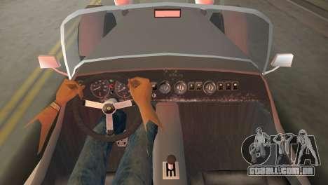 Caterham Super Seven para GTA Vice City vista traseira esquerda