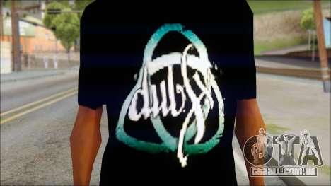 Dub Fx Fan T-Shirt v2 para GTA San Andreas terceira tela