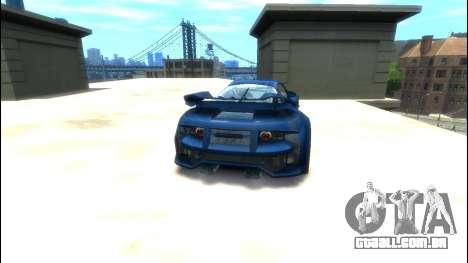 CyborX CD XL-GT para GTA 4 traseira esquerda vista