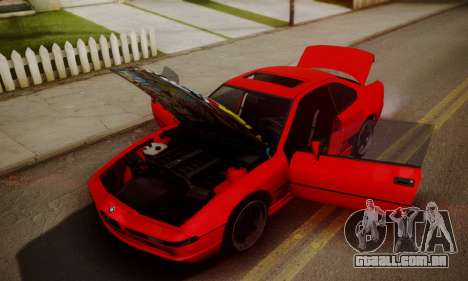 BMW M8 Custom para GTA San Andreas vista direita