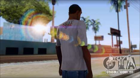 Tribal tee Mouse Inked White T-Shirt para GTA San Andreas segunda tela