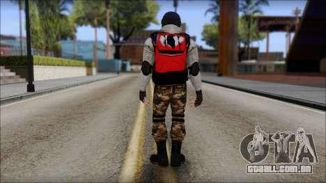 Peng Thug para GTA San Andreas terceira tela