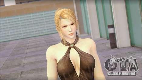 Sarah from Dead or Alive 5 v3 para GTA San Andreas terceira tela