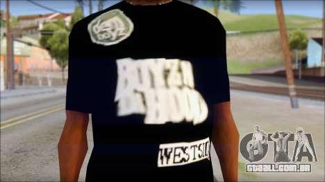 Dem Boyz T-Shirt para GTA San Andreas terceira tela