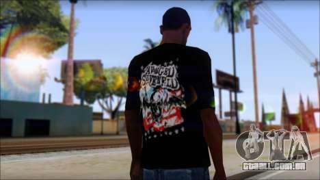 A7X Stars And Stripes T-Shirt para GTA San Andreas segunda tela