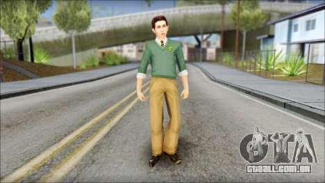Constantinos from Bully Scholarship Edition para GTA San Andreas segunda tela