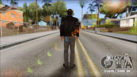 Leon Kennedy from Resident Evil 6 v2 para GTA San Andreas segunda tela