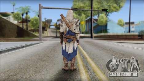 Connor Kenway Assassin Creed III v2 para GTA San Andreas segunda tela