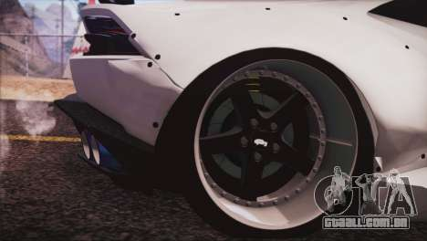 Lamborghini Huracan Liberty Walk para GTA San Andreas traseira esquerda vista