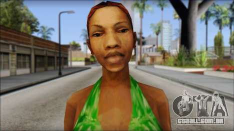 Kendl Skin para GTA San Andreas terceira tela