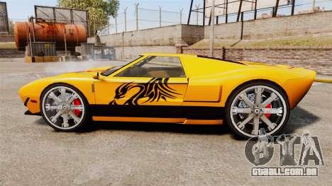 Vapid Bullet RS para GTA 4 esquerda vista