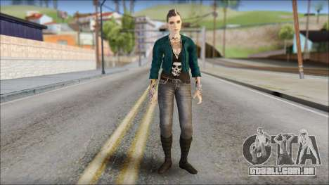 Clara Lille From Watch Dogs para GTA San Andreas