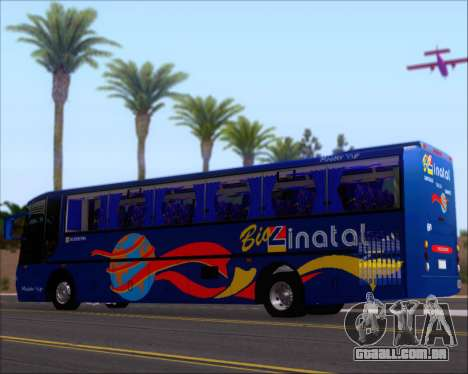 Busscar El Buss 340 Bio Linatal para GTA San Andreas interior