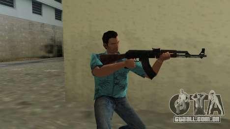 Kalashnikov Tipo 1 para GTA Vice City terceira tela