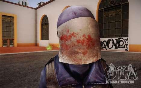 British Riot Police from Killing Floor para GTA San Andreas terceira tela