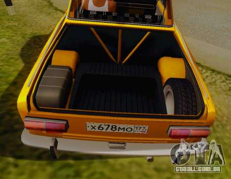 VAZ 2101 de Captação de para GTA San Andreas vista traseira