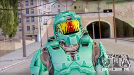 Masterchief Blue-Green from Halo para GTA San Andreas