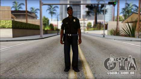 Sweet Policia para GTA San Andreas segunda tela