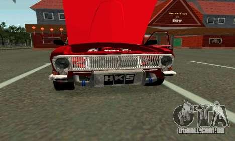 GÁS 24 para GTA San Andreas vista direita