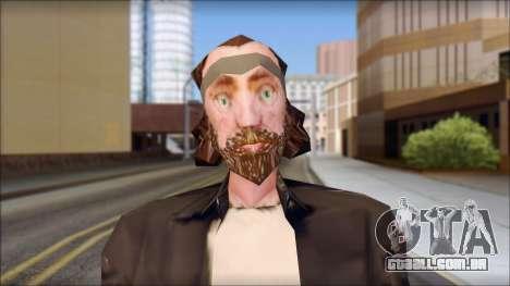 The Truth Skin para GTA San Andreas terceira tela