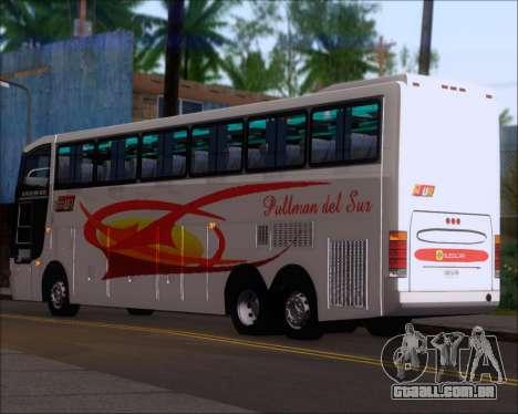 Busscar Jum Buss 400 Volvo B10R Pullman Del Sur para GTA San Andreas vista direita