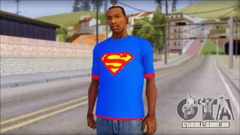 Superman T-Shirt v1 para GTA San Andreas