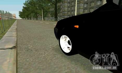 VAZ 21123 Turbo para GTA San Andreas interior
