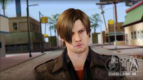 Leon Kennedy from Resident Evil 6 v1 para GTA San Andreas terceira tela
