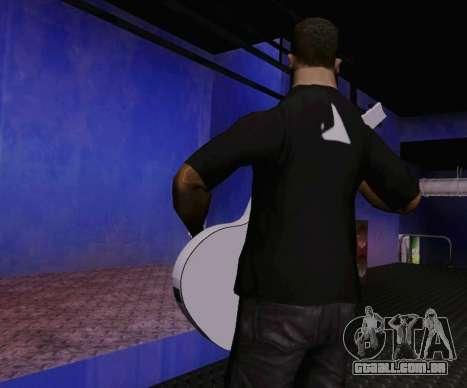Músicas de Viktor Tsoi guitarra para GTA San Andreas terceira tela