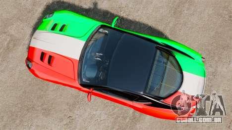 Ferrari 599 GTO PJ4 para GTA 4 vista direita