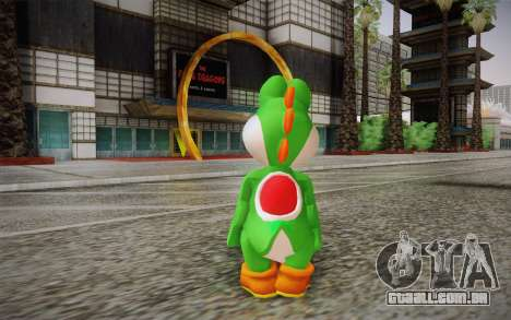 Yoshi from Super Mario para GTA San Andreas segunda tela