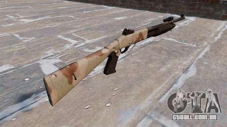Ружье Benelli M3 Super 90 choco para GTA 4 segundo screenshot