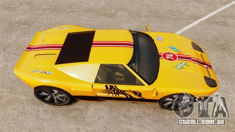 Vapid Bullet RS para GTA 4 vista direita