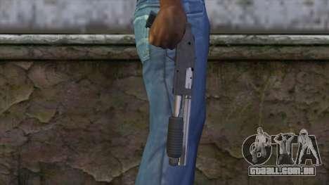 Sawnoff Shotgun from GTA 5 v2 para GTA San Andreas terceira tela