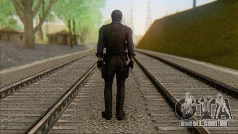 Leon .S.Kennedy v2 para GTA San Andreas segunda tela