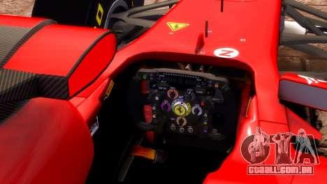 Ferrari 150 Italia para GTA 4 vista direita