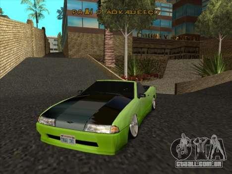Elegy Cabrio HD para vista lateral GTA San Andreas