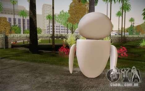 Eve Skin para GTA San Andreas segunda tela