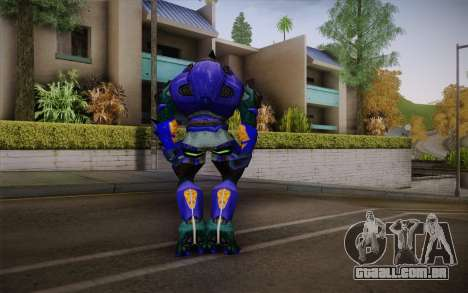 Blue Elite v2 para GTA San Andreas segunda tela