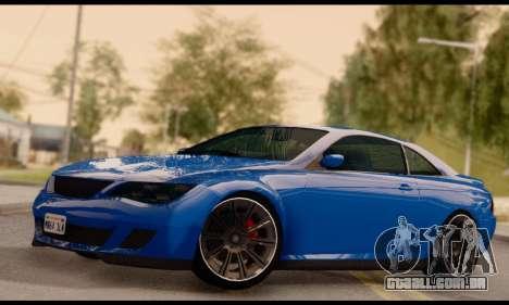 Ubermacht Zion XS 1.0 para GTA San Andreas
