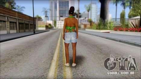 Kendl Skin para GTA San Andreas segunda tela