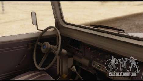 Toyota Land Cruiser (FJ40) 1978 para GTA San Andreas traseira esquerda vista