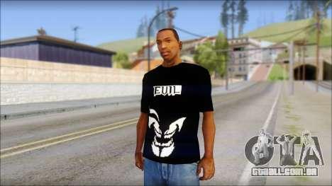 Evil T-Shirt para GTA San Andreas