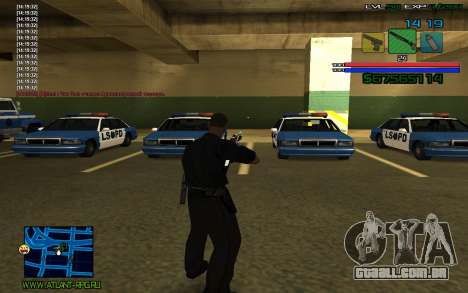 C-HUD by SampHack v.3 para GTA San Andreas terceira tela