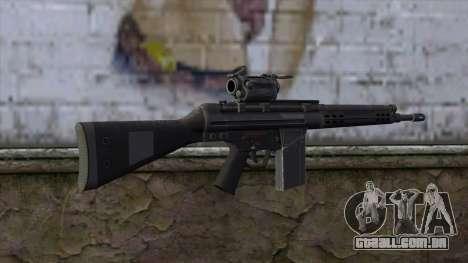 HK A4 SOG from Medal Of Honor: Warfighter para GTA San Andreas segunda tela