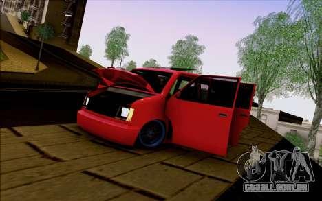 Moonbeam Stance para GTA San Andreas vista direita