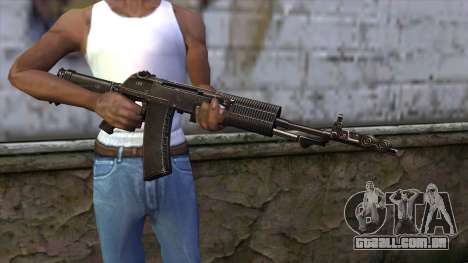AN94 from CSO NST para GTA San Andreas terceira tela