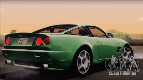 Aston Martin V8 Vantage V600 1998 para GTA San Andreas esquerda vista