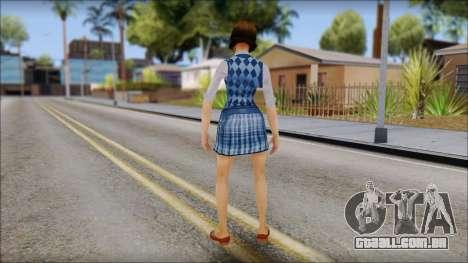 Pinky from Bully Scholarship Edition para GTA San Andreas terceira tela