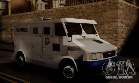 Iveco Daily Brinks para GTA San Andreas
